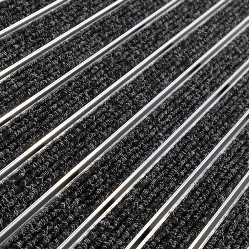 Tapis d 39 entr e 10r aluminium for Tapis entree exterieur